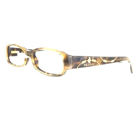 866e4a56dec4 PRADA VPR 15L Eyeglass Frames RX and Case. M 5b2fea59f63eeac5b98ec666